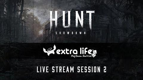 Hunt Showdown Extra Life 2017 Session 2
