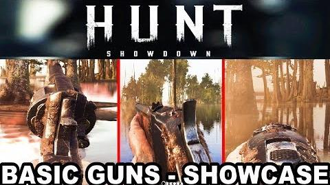 Hunt Showdown - Basic Weapons Showcase