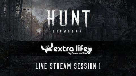 Hunt Showdown Extra Life 2017 Session 1