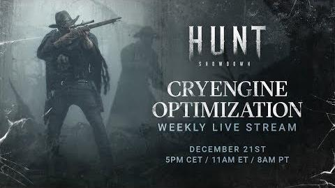 Hunt Showdown CRYENGINE UX Improvements