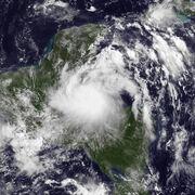 Tropical Storm Harvey Aug 20 2011 1445Z