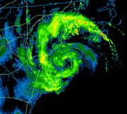 2008 Carolinas Storm Radar