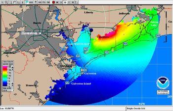 Hurricane Ike SLOSH Example