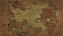 Hunter X Hunter World Map