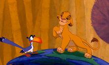 Lion king zasu simba