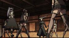 Muneakira and Co ambushed
