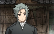 Muneakira's sympathetic smile