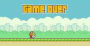 Flappy bird dies