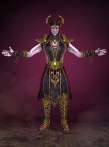 Shinnok at his glory