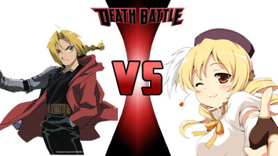 Fullmetal Alchiemeist vs the yellow haired magical girl