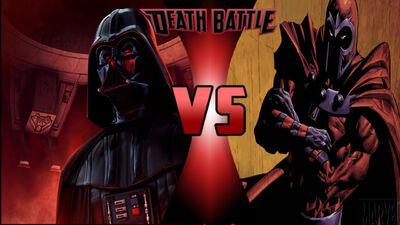 Danth Vader vs magnet guy