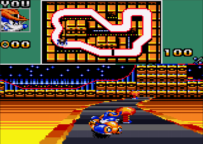 Sonic Drift2 Casino Night sega gamegear