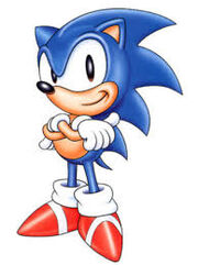 Here is sonic from the 90s