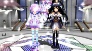 Mmd neptune and noire by anjusendo-d4zoww7