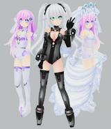 Mmp purple sister black heart an wedding sister by xcolourz-d5wydlq