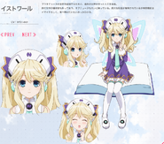 TV anime Hyperdimension Neptunia Histoire