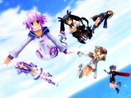 Hyperdimension neptunia by maicamie09-d52kzm9