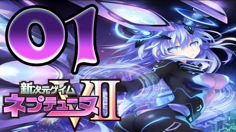 新次元ゲイム ネプテューヌVII Hyperdimension Neptunia VII AginoEvolutionHD Walkthrough - Part 1