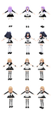 Mmd neptunia v sisters maid outfit by xxsnowcherryxx-d5oax5w