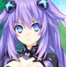 Purple heart emotion