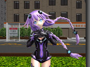 Mmd hyperdimension neptunia purple heart by mmdjgjgj-d5s88q5