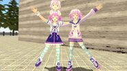 A tale of two Neps Nep meets her HDN self
