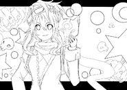 Holloween nisa sketch by animeartist25-d5irrfu