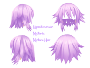 Hyperdimensiopn neptunia neptune hair view by punipunicheeks-d5ja9ql