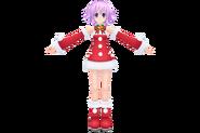 Hyperdimension neptunia mkii neptune santa by xxnekochanofdoomxx-d5nv31z