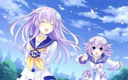 Nepgear and Neptune
