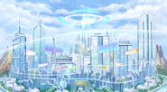 Planeptune central city