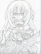Vert fan art by kingofanime7-d5op6gv