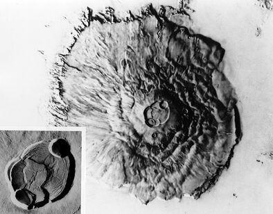 Olympus Mons and Caldera