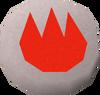 Fire rune detail