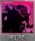 Hyper Light Drifter Card Judgement Foil