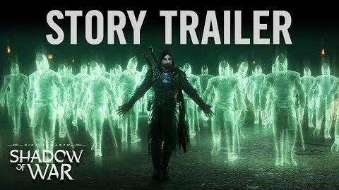 Official Shadow of War Story Trailer 4K