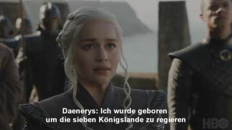 Game of Thrones Staffel 7 Trailer Deutsch German Deutsche German Untertitel