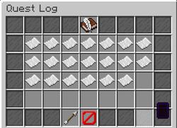 Quest Log menu