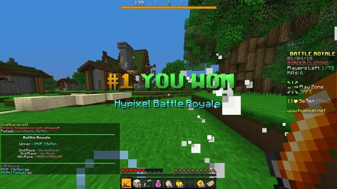 Minecraft Server Lucky Network - Syurat d