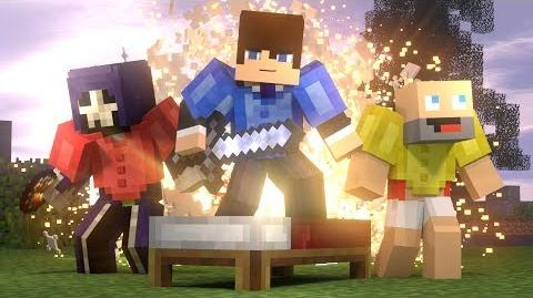 Bed Wars- FULL ANIMATION (Minecraft Animation) -Hypixel-