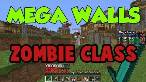 MEGA WALLS! - ZOMBIE Class Gameplay Review! - Hypixel Server - The Medic!