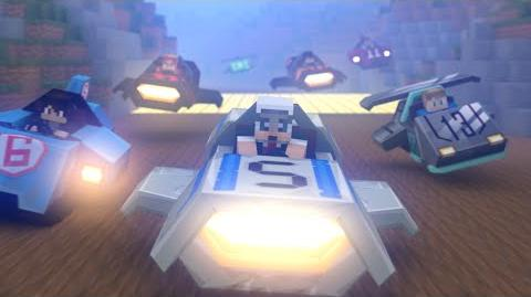 Turbo Kart Racers Promo (Minecraft Animation) Hypixel 4k