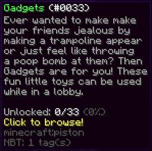 GadgetsItem