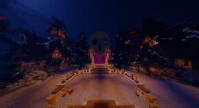 Halloween lobby