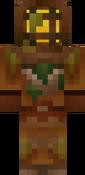 Creeper-Kreeft Skin