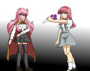 Louise vs Mina