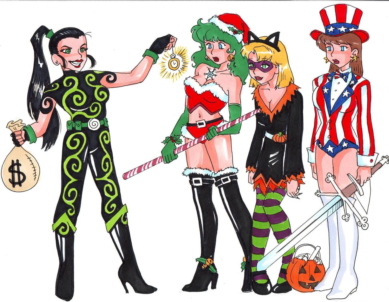 Mezmera Vs The Holiday Heroines