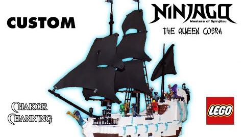 Custom LEGO Ninjago The Queen Cobra Hypnobrai Serpentine Ship