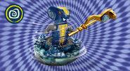 Slithraa spinner background