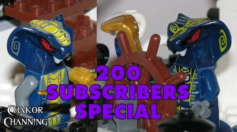 200 Subscribers Special - LEGO Ninjago 'The Queen Cobra' MOC Preview
